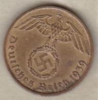 5 Reichspfennig 1939 A (BERLIN)   Bronze-aluminium - [ 4] 1933-1945 : Troisième Reich