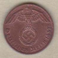 1 Reichspfennig 1937 A (BERLIN) Bronze - [ 4] 1933-1945 : Tercer Reich