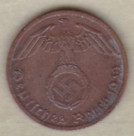 1 Reichspfennig 1939 A (BERLIN)  Bronze - [ 4] 1933-1945 : Tercer Reich