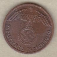 1 Reichspfennig 1939 A (BERLIN)  Bronze - [ 4] 1933-1945 : Third Reich