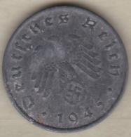 10 Reichspfennig 1945 A (BERLIN) ZINC - 10 Reichspfennig