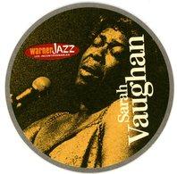 France. 1664. Kronenbourg. Sarah Vaughan. Warner Jazz. Les Incontournables. La Nouvelle Collection Jazz De Référence. - Sous-bocks