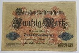 BILLET ALLEMAGNE - EMPIRE - P.49 - 50 MARK - 1914 - [ 2] 1871-1918 : Duitse Rijk