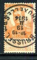 Belgique COB 116 ° - 1912 Pellens