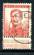 Belgique COB 123 ° Iseghem - 1912 Pellens