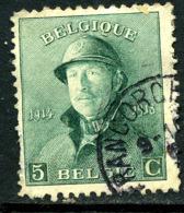 Belgique COB 167 ° Walcourt - 1919-1920 Trench Helmet