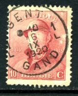 Belgique COB 168 ° Gent - 1919-1920 Roi Casqué