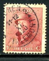 Belgique COB 168 ° Tienen - 1919-1920 Trench Helmet