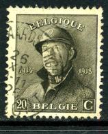 Belgique COB 170 ° Geraardsbergen - 1919-1920 Trench Helmet