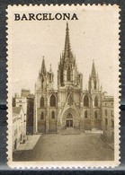 Viñeta BARCELONA, Plaza De La Catedral, Tusritica, Label, Cinderella * - Variedades & Curiosidades