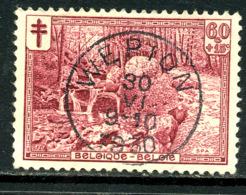 Belgique COB 296 ° Wépion - Belgique