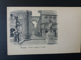 Firenze - Interno Loggia De'Lanzi - Firenze