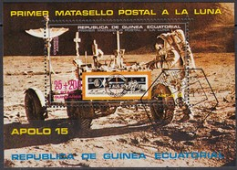 ÄQUAT.GUINEA  1972  MiNr.25 - Block 1 - Raumfahrt