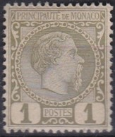 Monaco   .     Yvert    .      1        .      **       .    MNH      .    /    .  Neuf SANS Charniere - Monaco