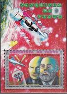 ÄQUAT.GUINEA 1973  MiNr.224  Block 57 - Raumfahrt