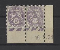 FRANCE.  YT   N° 233  Neuf **  1927 - Ungebraucht