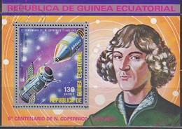 ÄQUAT.GUINEA 1974  MiNr.336  Block 93 - Raumfahrt