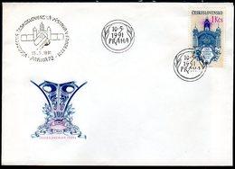 CZECHOSLOVAKIA 1991 National Exhibition Centenary FDC.  Michel 3085 - FDC