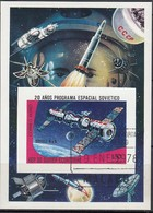 ÄQUAT.GUINEA 1978  MiNr.1277  Block 279 - Raumfahrt