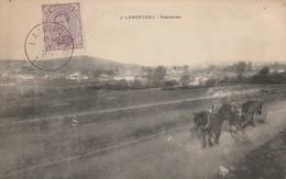 Lamorteau   Panorama  Avec Attelage Circulé En 1920 - Rouvroy