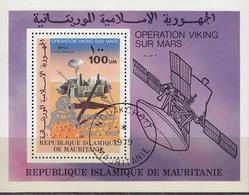 MAURETANIEN 1979  MiNr. 651 Block 25 - Raumfahrt
