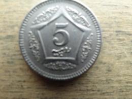 Pakistan  5  Rupees   2003   Km 65 - Pakistan