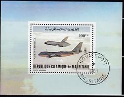 MAURETANIEN 1981  MiNr. 719 Block 31 - Raumfahrt