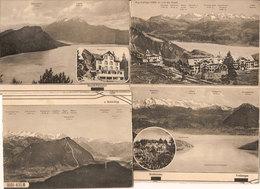 (C).Svizzera.Lotto 4 Cartoline Nuove (4-a19) - LU Lucerne
