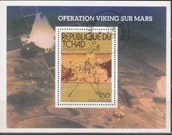 TSCHAD 1976  MiNr. 752 Block 66 - Raumfahrt