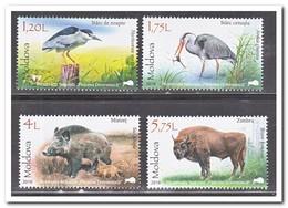 Moldavië 2018, Postfris MNH, Birds, Animals - Moldavië