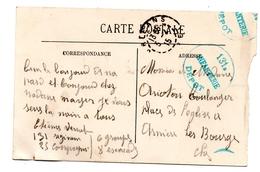 Cachet Dépot 131 ème Infanterie F.M - Franchise Stamps