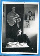 ELVIS PRESLEY BIRTHDAY-graceland 1960-Memphis-devant Son Gateau Guitare-édition  H Dauman 1989 - Artistes