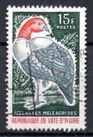 CÔTE D'IVOIRE. N°239 Oblitéré De 1965. Pintade. - Gallinacées & Faisans