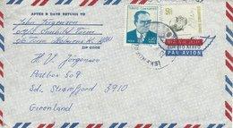 Turkey - Cover Sent To Greenland.  H-248 - 1921-... Republic