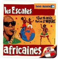 France. Kronenbourg. Les Escales Africaines. 13 Et 14 Août. Port De Saint-Nazaire. Double Mixte. - Sous-bocks