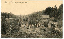"""CPA - Carte Postale - Belgique - Lanklaer - Parc De L'Hôtel """"Beau Séjour""""  (M8181) - Dilsen-Stokkem"""
