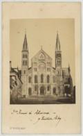 CDV 1869 Baudart à Reims . L'Eglise Saint-Rémi . - Photographs