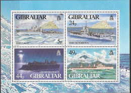 Gibraltar 1995 Warships In World War II (III). Mi Bloc 22 MNH(**) - Gibraltar