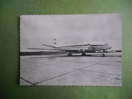 CPSM AEROPORT DE PARIS AVION COMET DE LA COMPAGNIE U A T 1953  TB ETAT - 1946-....: Modern Era