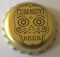 Capsule De Bière Beer Crown Cap Cubanisto Beer Dorée - Bier