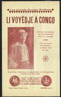 "WALLON - "" Li Voyèdje A Congo "" - Les Grands Succès Wallons - Isi STEINWEG - Editions Jos. HALLEUX, Liège. - Livres, BD, Revues"