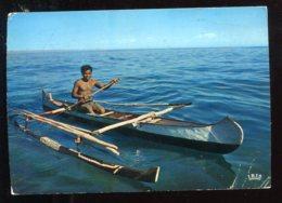 CPM Madagascar Lakan Jejo Pirogue à Balanciers - Madagaskar