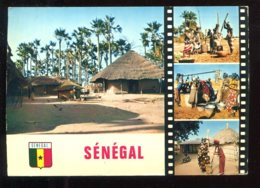 CPM Sénégal La Vie Au Village Multi Vues - Senegal