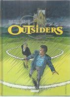 """OUTSIDERS  """" LE COURONNEMENT DU PROFESSEUR CLEGG """"  -  MINIAC / RIVIERE - E.O. MARS 1998  GLENAT - Zonder Classificatie"""