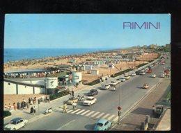 CPM Italie RIMINI Lungomare E Spiaggia - Rimini