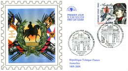 France - FDC 2005 - Yt 3782- Emission Commune France- République Tchèque - FDC