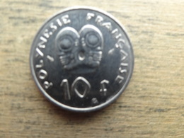 Polynesie  Francaise  10  Francs  1979  Km 8 - French Polynesia
