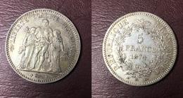 FRANCE - 5 FRANCS Hercule - 1874 A - France