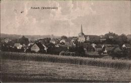 ! Alte Ansichtskarte Asbach Westerwald, Landkreis Neuwied, 1918 - Germany