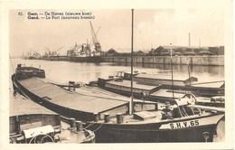 Gand NA102: Le Port. Nouveau Bassin( Péniches ) - Gent